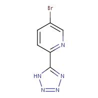 5-Bromo-2-(1H-tetrazol-5-yl)pyridine