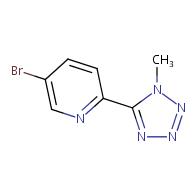 5-Bromo-2-(1-methyl-1H-tetrazol-5-yl)pyridine