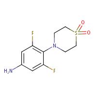 4-(4-amino-2,6-difluorophenyl)thiomorpholine 1,1-dioxide