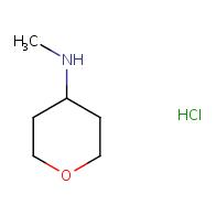 N-methyltetrahydro-2H-pyran-4-amine hydrochloride