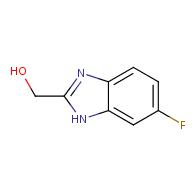 1H-Benzimidazole-2-methanol,6-fluoro-