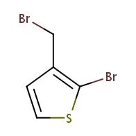 2-bromo-3-(bromomethyl)thiophene