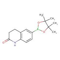 3,4-dihydro-6-(4,4,5,5-tetramethyl-1,3,2-dioxaborolan-2-yl)quinolin-2(1H)-one