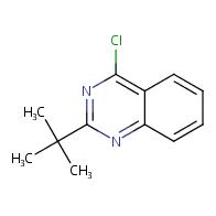 2-tert-butyl-4-chloroquinazoline