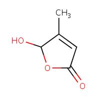 5-hydroxy-4-methyl-2,5-dihydrofuran-2-one