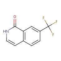 1(2h)-isoquinolinone, 7-(trifluoromethyl)-