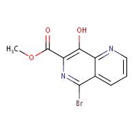 methyl 5-bromo-8-hydroxy-1,6-naphthyridine-7-carboxylate