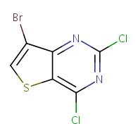 7-bromo-2,4-dichlorothieno[3,2-d]pyrimidine