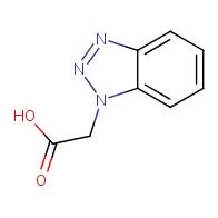 1H-1,2,3-benzotriazol-1-ylacetic acid
