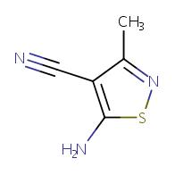 5-Amino-3-methyl-isothiazole-4-carbonitrile