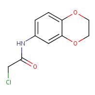 2-chloro-N-2,3-dihydro-1,4-benzodioxin-6-ylacetamide