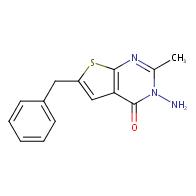 3-amino-6-benzyl-2-methylthieno[2,3-d]pyrimidin-4(3H)-one