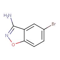 3-Amino-5-bromobenzo[d]isoxazole