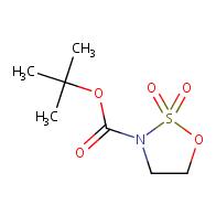 1,2,3-oxathiazolidine-3-carboxylic acid, 1,1-dimethylethyl ester, 2,2-dioxide