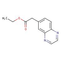 ethyl 2-(quinoxalin-7-yl)acetate