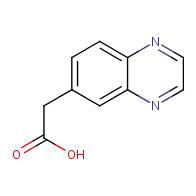 2-(quinoxalin-6-yl)acetic acid