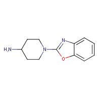 1-(1,3-benzoxazol-2-yl)piperidin-4-amine