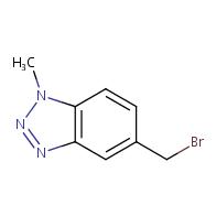 5-(bromomethyl)-1-methyl-1H-benzo[d][1,2,3]triazole