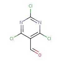 2,4,6-Trichloropyrimidine-5-carbaldehyde
