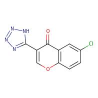 6-Chloro-3-(1H-tetrazol-5-yl)-4H-chromen-4-one