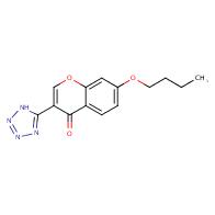7-Butoxy-3-(1H-tetrazol-5-yl)-4H-chromen-4-one