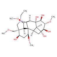 (1S,2R,3R,4R,5R,6S,7S,8R,9R,13R,14R,16S,17S,18R)-11-ethyl-6,16,18-trimethoxy-13-(methoxymethyl)-11-azahexacyclo[7.7.2.12,5.01,10.03,8.013,17]nonadecane-4,5,7,8,14-pentol