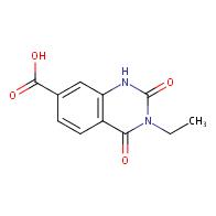 3-ethyl-2,4-dioxo-1,2,3,4-tetrahydroquinazoline-7-carboxylic acid