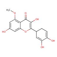 2-(3,4-dihydroxycyclohexa-2,4-dien-1-yl)-3,7-dihydroxy-5-methoxy-4H-chromen-4-one