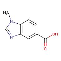 1-Methyl-1H-benzo[d]imidazole-5-carboxylic acid