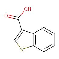 1-Benzothiophene-3-carboxylic acid