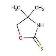 4,4-dimethyloxazolidine-2-thione
