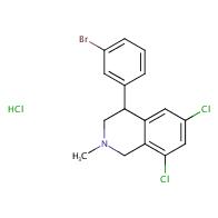 4-(3-bromophenyl)-6,8-dichloro-2-methyl-1,2,3,4-tetrahydroisoquinoline hydrochloride