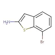 7-Bromobenzo[b]thiophen-2-amine