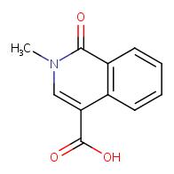 2-methyl-1-oxo-1,2-dihydroisoquinoline-4-carboxylic acid