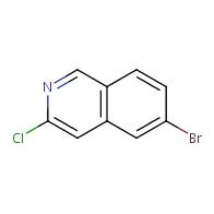 6-bromo-3-chloroisoquinoline