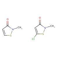 2-methylisothiazol-3(2H)-one compound with 5-chloro-2-methylisothiazol-3(2H)-one (1:1)