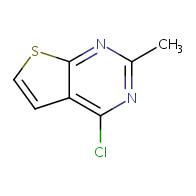 4-chloro-2-methylthieno[2,3-d]pyrimidine