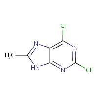 2,6-dichloro-8-methyl-9H-purine