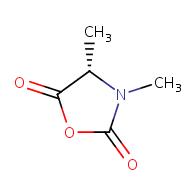 (4S)-3,4-dimethyl-1,3-oxazolidine-2,5-dione
