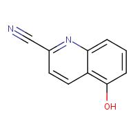 5-hydroxyquinoline-2-carbonitrile