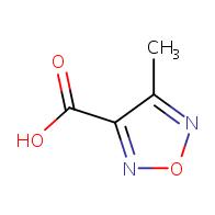 4-methyl-1,2,5-oxadiazole-3-carboxylic acid