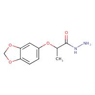 2-(1,3-benzodioxol-5-yloxy)propanohydrazide