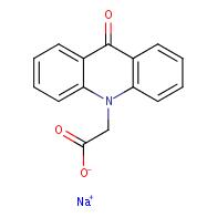 sodium;2-(9-oxoacridin-10-yl)acetate