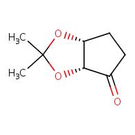 (3aR,6aR)-2,2-dimethyl-hexahydrocyclopenta[d][1,3]dioxol-4-one