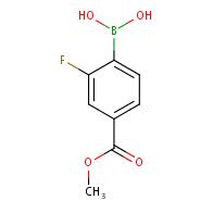 2-Fluoro-4-(methoxycarbonyl)phenylboronic acid
