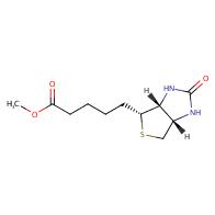 methyl 5-((3aR,4R,6aS)-2-oxohexahydro-1H-thieno[3,4-d]imidazol-4-yl)pentanoate
