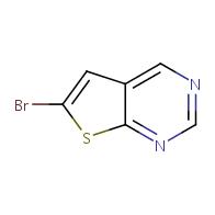 6-bromothieno[2,3-d]pyrimidine