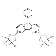 9-Phenyl-3,6-bis(4,4,5,5-tetramethyl-1,3,2-dioxaborolan-2-yl)-9H-carbazole