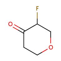 3-fluorooxan-4-one