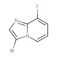 3-bromo-8-fluoroimidazo[1,2-a]pyridine